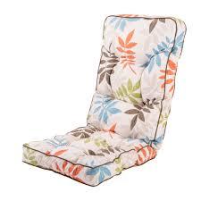 garden recliner luxury cushion homebase