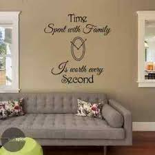 Time Spent With Family Is Worth Every Second Vinyl Wall Decal Sticker Ebay