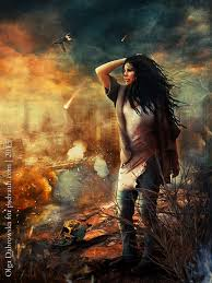 apocalyptic scene in photo