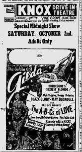 At the Follies Burlesque: Blaza Glory and Myrna Dean |
