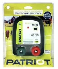 Patriot Pe10b Battery Electric Fence Charger Energizer 10 Miles 40 Acres Ebay