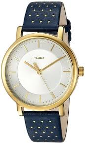timex mujer reloj oro gold brass silver