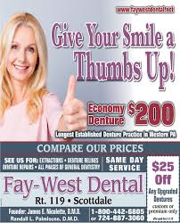 SUNDAY, JANUARY 20, 2019 Ad - Fay-West Dental - The Dominion Post