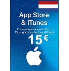 apple itunes gift card 15 eur