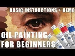 oil painting for beginners basic