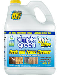 Simple Green Oxy Solve Deck Fence Cleaner