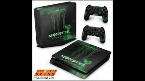 Ps4 Slim Skin Monster Energy Drink Youtube