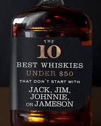 the 10 best whiskies under 50 that don