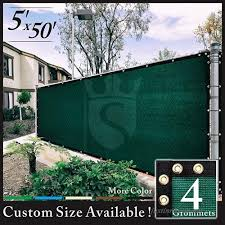Royal Shade 4x50 Green Fence Screen Windscreen Cover Netting Mesh Fabric C Loth Get Your Privacy