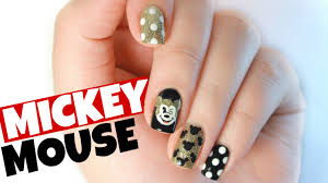 Glittery Mickey Mouse | Nail Art Tutorial – Nail It Art
