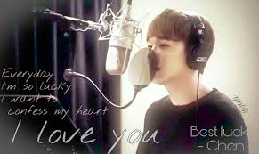 exo lyric quote song best luck drama it s ok that s love by