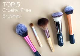 top 5 synthetic makeup brushes a