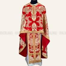 Greek style church vestments for sale - order, buy online. Oblachenie