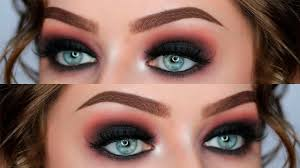 black smokey eye makeup tutorial step