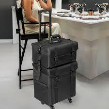 nylon makeup case trolley traincase