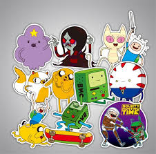 Adventure Time Funny Anime Sticker Decal For Car Laptop Bicycle Notebook Waterproof Stickers Top Ten Toys For Christmas Kids Toys For Christmas From Ytkids 1 15 Dhgate Com