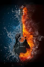 fire guitar wallpaper 64 pictures