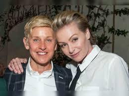 Portia De Rossi: Ellen DeGeneres and Portia de Rossi work out marital  issues - Times of India