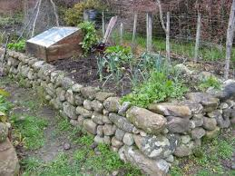 raised bed with rocks much better