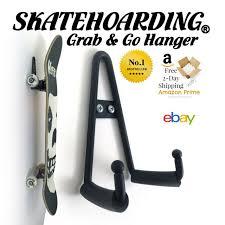 skateboard wall mount hanger rack