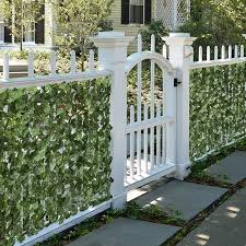 Best Choice Products 94x59in Artificial Faux Ivy Hedge Privacy Fence Screen For Outdoor Decor Garden Yard Green Walmart Com Garden Gates And Fencing Fence Decor Fence Screening