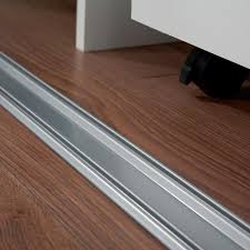silver sliding wardrobe door track