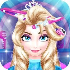 princess barbie hair salon barbie