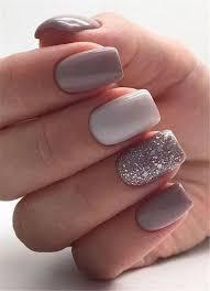 winter short square nail designs