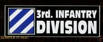 Us Army 3rd Infantry Division Premium Die Cut Vinyl Sticker Made In The Usa