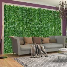 Serda Artificial Leaf Screening Roll Uv Fade Protected Privacy Hedging Wall Landscaping Garden Fence Balcony Screen Shopee Philippines