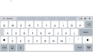 how to use ios 11 s new ipad keyboard