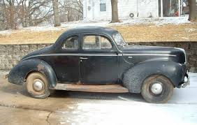black beauty 1940 ford coupe