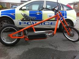 electric chopper bike homemade in