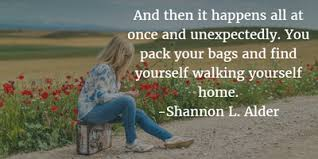 beautiful quotes about going home enkiquotes
