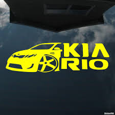 Decal Kia Rio Club Automafia Buy Vinyl Decals For Car Or Interior Decal Factory Stickerpro Different Colors And Sizes Is Avalable Free World Wide Delivery