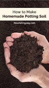 how to make homemade potting soil