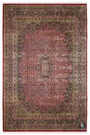 salmon bidjar handknotted wool rug