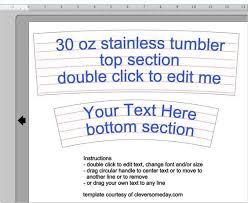 Free 30 Oz Yeti Template For Silhouette Or Cricut Users Template Freebie Yeti Tumbler Vinyl Tumblers