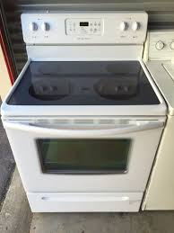 frigidaire glass top stove for in