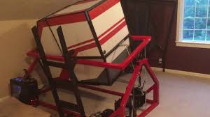 homemade motion simulator you