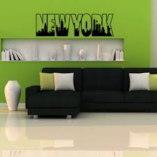 New York Street Wall Decal Giants Skyline Target Jets Design Yankees Logo Themed Islanders Rangers Vamosrayos