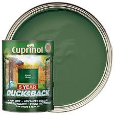 Cuprinol 5 Year Ducksback Matt Shed Fence Treatment Forest Green 5l Wickes Co Uk