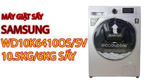 Máy Giặt Sấy Samsung WD10K6410OS/SV 10.5kg/6kg sấy - Pico.vn - YouTube