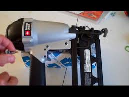 nailer trigger embly air leak remove