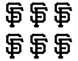 Small San Francisco Giants Vinyl Decals Phone Laptop Stickers Set Of 6 Kandy Vinyl Shop