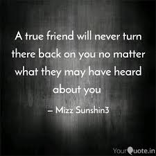 a true friend will never quotes writings by mizz sunshin