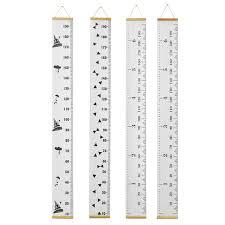 Wooden Kids Growth Height Chart Ruler Children Room Decor Wall Hanging Measure Sale Banggood Com