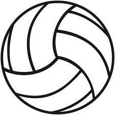 Volleyball Outline Logo Sticker Decal Car Truck Window Laptop Etsy