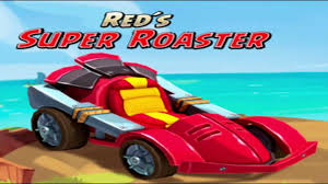 Red´s Super Roaster Angry Birds Go Character - YouTube