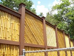 Bamboo Fences For Privacy Belezaa Decorations From Make A Bamboo Fences For Yourself Pictures